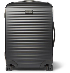 Ermenegildo Zegna - Leather-Trimmed Polycarbonate Carry-On Suitcase