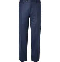 Canali - Navy Slim-Fit Super 120s Wool Suit Trousers