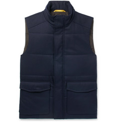 Canali Slim-Fit Quilted Wool Gilet