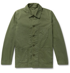 Aspesi - Garment-Washed Cotton-Twill Field Jacket