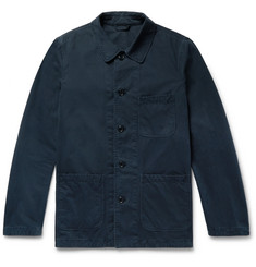 Aspesi Garment-Washed Cotton-Twill Field Jacket