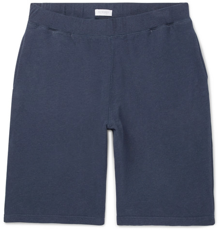 Brushed Loopback Cotton-jersey Shorts Sunspel gUSp9Np