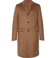 Prada Slim-Fit Camel Hair Coat