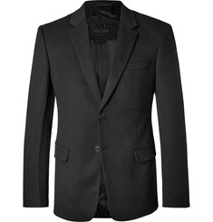 Prada - Black Slim-Fit Cashmere Blazer