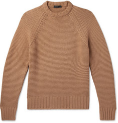 Prada Virgin Wool and Cashmere-Blend Sweater