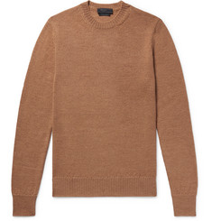 Prada Slim-Fit Alpaca Sweater