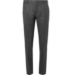 Prada Grey Slim-Fit Mélange Wool Suit Trousers
