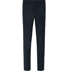 Prada Slim-Fit Stretch-Cotton Gabardine Trousers