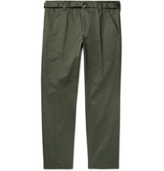 Prada Cotton-Twill Trousers