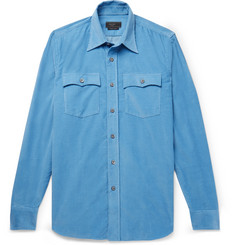 Prada - Slim-Fit Cotton-Corduroy Shirt