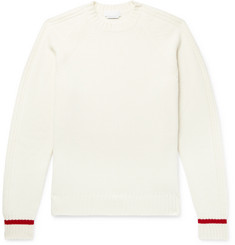 Prada Slim-Fit Virgin Wool and Cashmere-Blend Sweater
