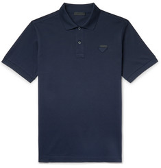 Prada - Cotton-Piqué Polo Shirt