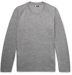 Z Zegna Slim-Fit TECHMERINO Wool T-Shirt