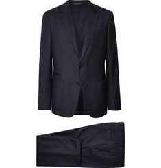 Z Zegna Navy Slim-Fit Wash & Go Puppytooth TECHMERINO Wool-Flannel Suit