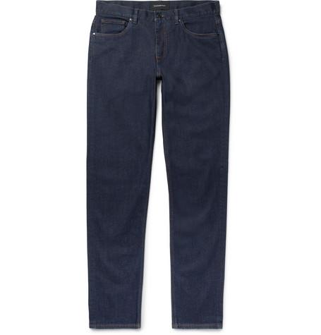 Slim Fit Stretch Denim Jeans by Ermenegildo Zegna