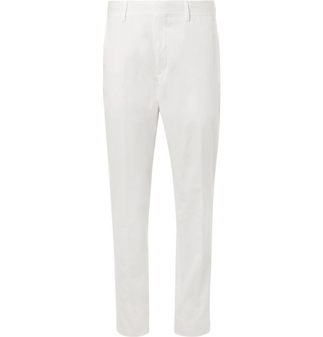 Stretch-cotton Twill Chinos