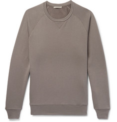 Bottega Veneta Fleece-Back Cotton-Jersey Sweatshirt
