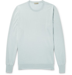 Bottega Veneta - Intrecciato-Detailed Wool Sweater