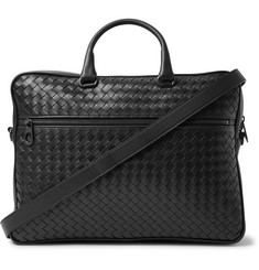 Bottega Veneta - Intrecciato Leather Briefcase