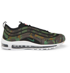 Nike Air Max 97 Faux Leather and Canvas Sneakers