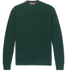 Loro Piana - Ribbed Cashmere and Silk-Blend Sweater
