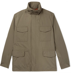 Loro Piana Traveller Windmate Storm System Shell Hooded Field Jacket