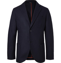 Loro Piana Navy Slim-Fit Cashmere Blazer
