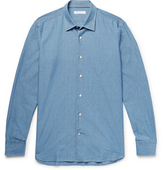 Loro Piana - Preston Cotton-Chambray Shirt
