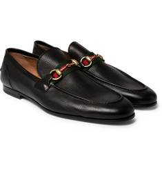 Gucci - Horsebit Leather Loafers