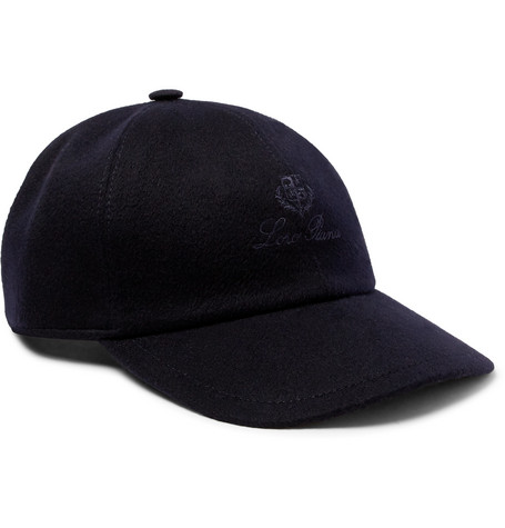 1f7fd03fb10 Loro PianaLogo-Embroidered Storm System Baby Cashmere Baseball Cap