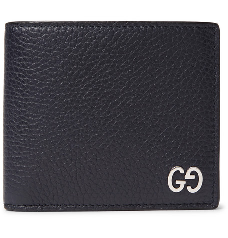 Full Grain Leather Billfold Wallet by Gucci