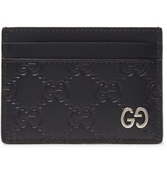 Gucci - Embossed Leather Cardholder