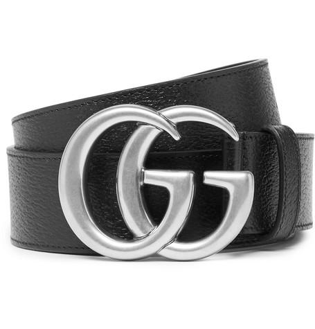 Gucci – 4cm Full-grain Leather Belt – Black