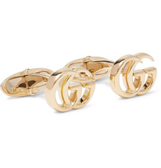Gucci - 18-Karat Gold Cufflinks