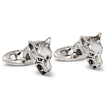 Gucci – Sterling Silver Cufflinks – Silver