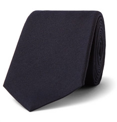 Gucci - 7cm Panther-Appliquéd Silk and Wool-Blend Tie