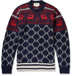 Gucci - Fair Isle Jacquard-Knit Wool Sweater