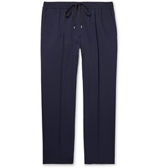 Gucci Cropped Wool Drawstring Trousers