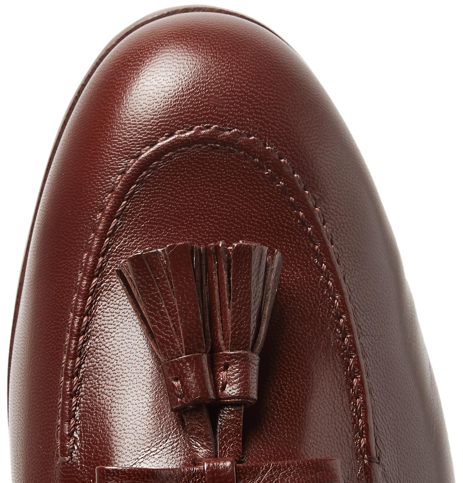 1b39c81b141 Gucci - Loomis Leather Tasselled Loafers