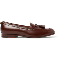 Gucci Loomis Leather Tasselled Loafers