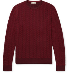 Etro Textured Mélange Wool Sweater