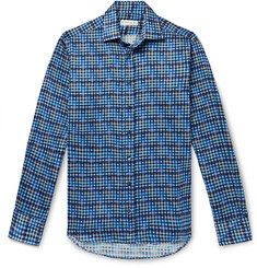 Etro - Slim-Fit Checked Cotton Shirt