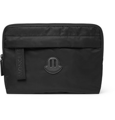 Moncler - Leather-Trimmed Nylon iPad Case