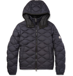 Moncler Morandieres Quilted Shell Hooded Down Jacket