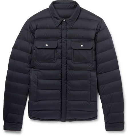 Shell Caph Moncler Slim Down Quilted Fit Jacket vvqxRr