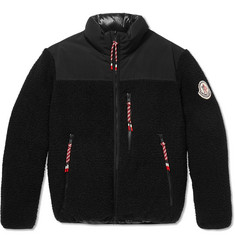 Moncler Genius 2 Moncler 1952 Brohan Reversible Fleece and Quilted Shell Down Jacket