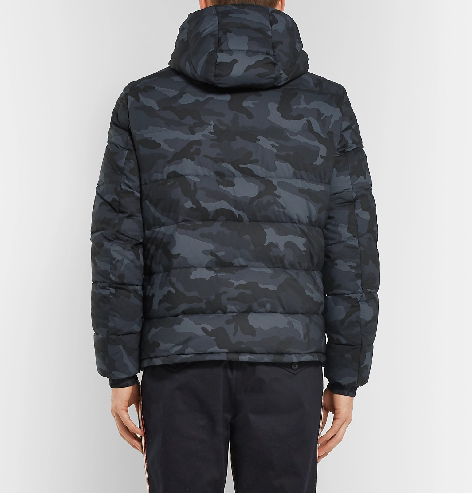 85816fe6a671 Moncler - Aiton Camouflage-Print Quilted Shell Hooded Down Jacket