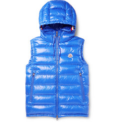 Moncler - Lanoux Quilted Shell Hooded Down Gilet