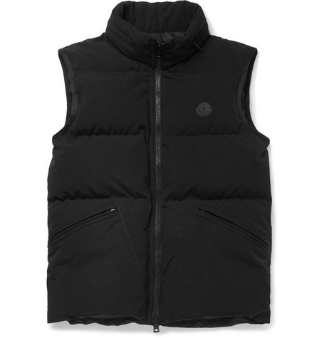Lognan Quilted Shell Hooded Down Gilet