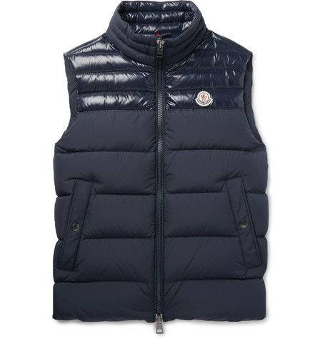 Slim-fit Quilted Shell Down Gilet